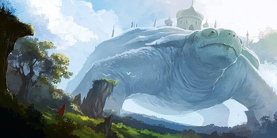 Fantasy Illustrations by Desmond Wong