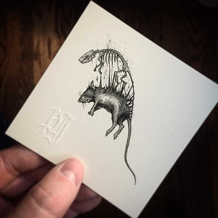 The miniature illustrations of Paul Jackson