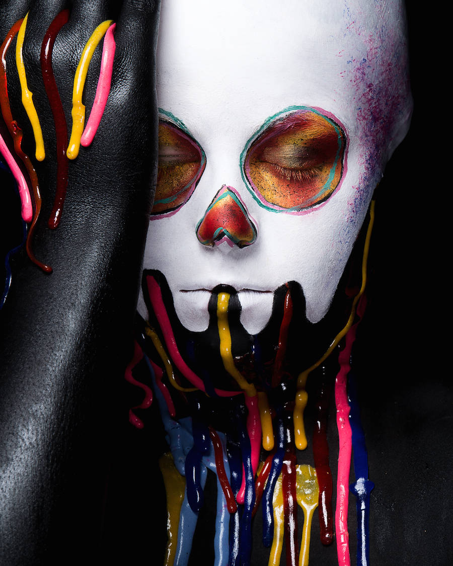 Striking Makeup Artworks Portraits
