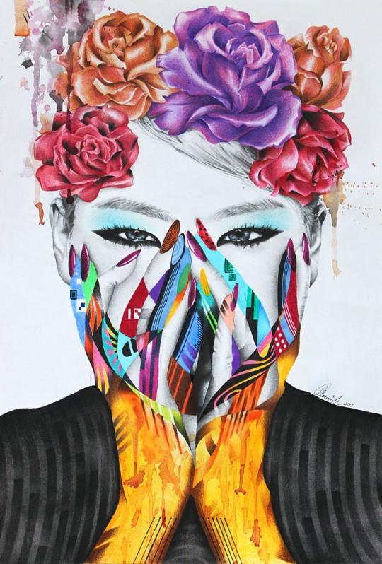 Amazing Portraits by Monica Sutrisna