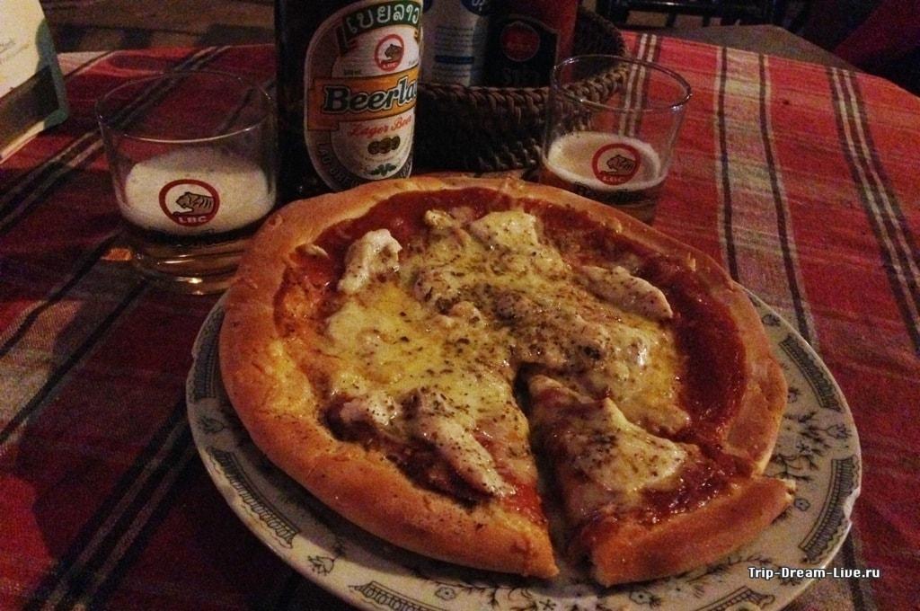 Ужасное фото - ужасная пицца