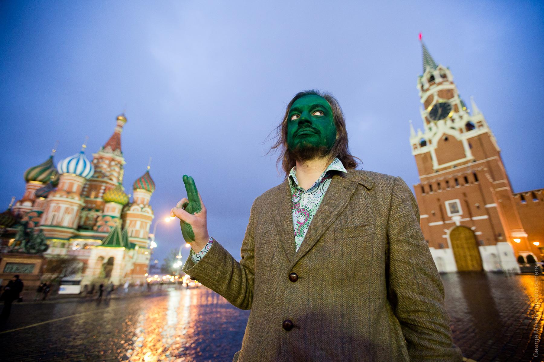 Зеленые люди в Москве