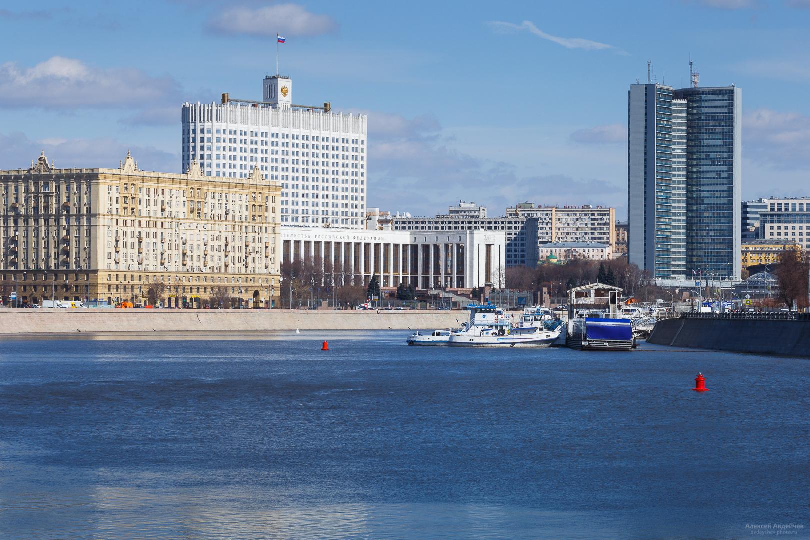 Москва, Дом Правительства РФ, 2017