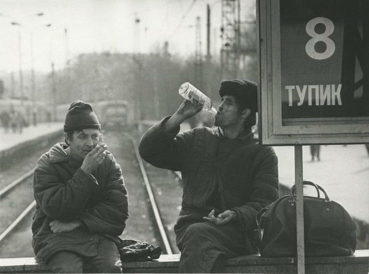 1980. Москва. Курский вокзал