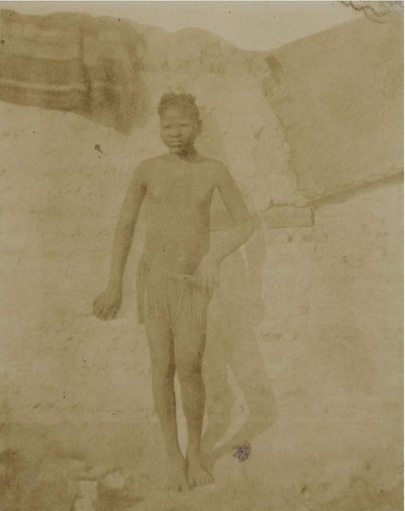 1850. Путешествие по восточной части Судана. Нубийка