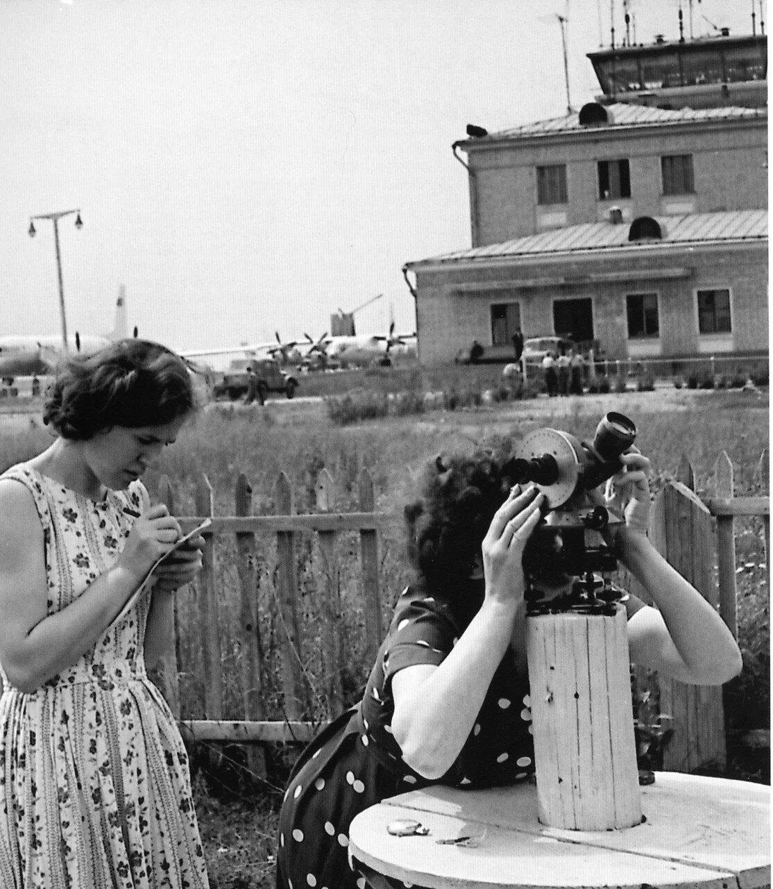 1960-1970. Аэропорт «Шереметьево»