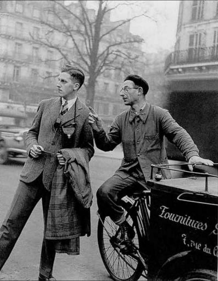 1930. Трёхколёсный грузовой мотороллер