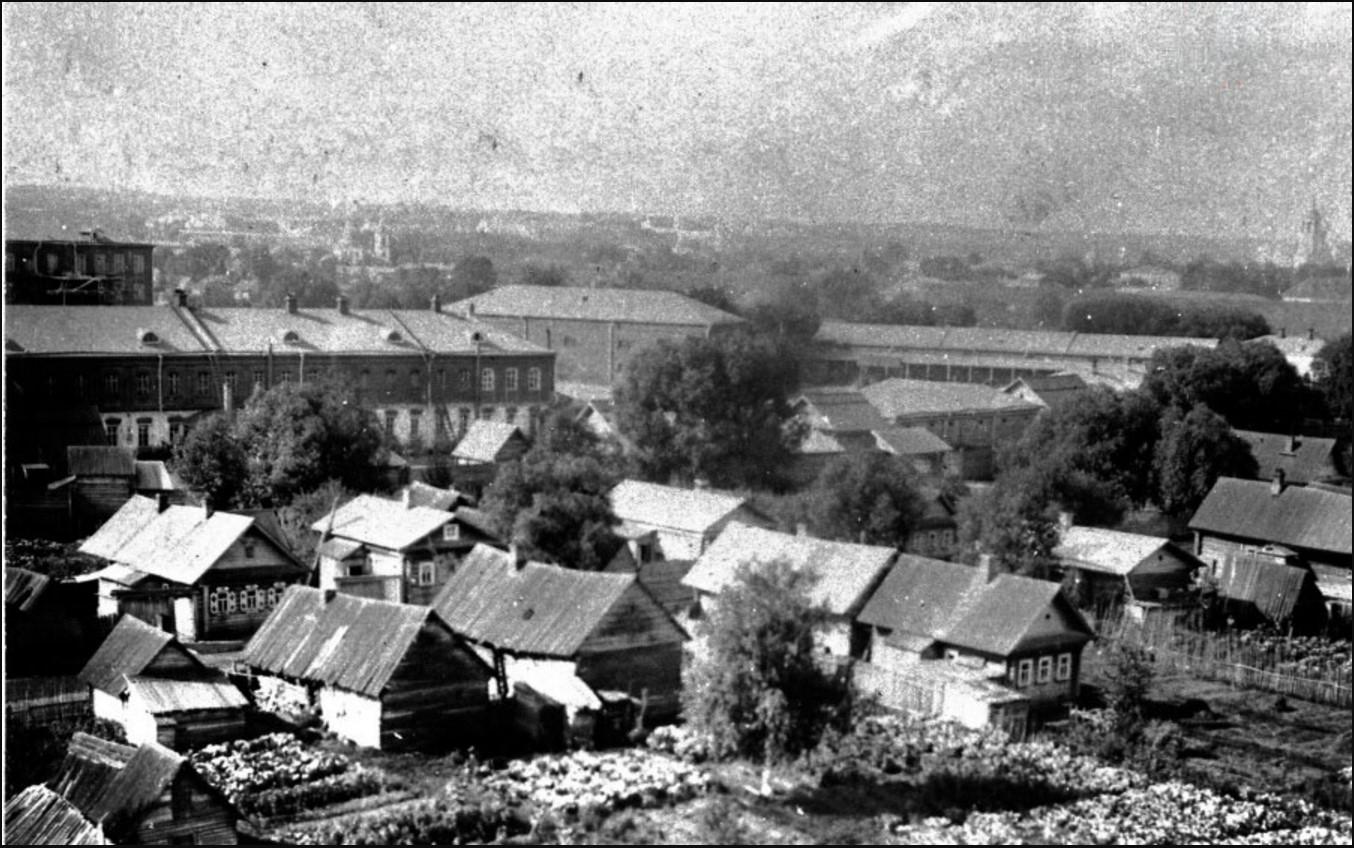 Фотография с колокольни Вознесенской церкви, 1890-1900-е