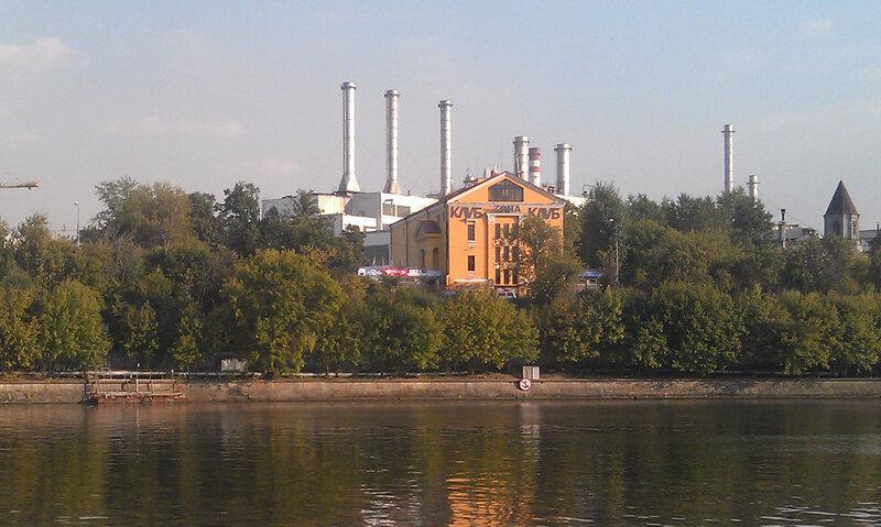 На велосипеде от Павелецкой вдоль Москвы-реки