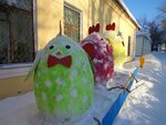 Ежов Саша (рук. Таюхина Таисия Романовна) - Зимние забавы зимой