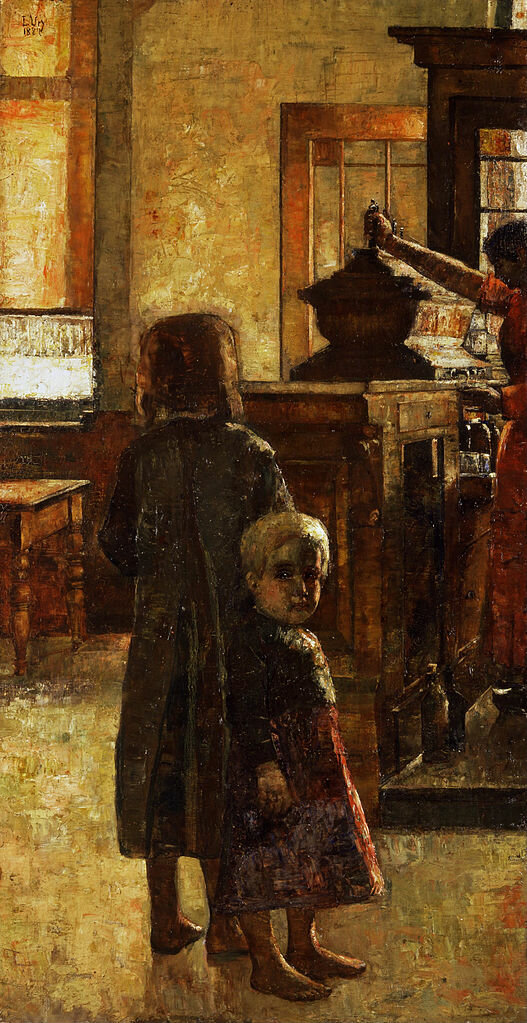 Фламандская таверна, 1884, Лессер Ури (1861-1831) Старая национальная галерея, Берлин