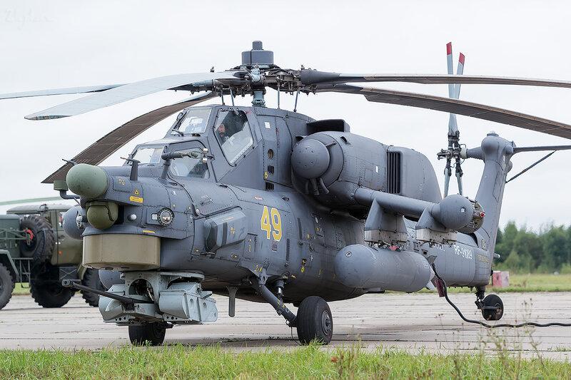 Миль Ми-28Н (RF-91089 / 49 жёлтый) D801751