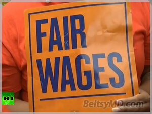 Забастовка работников ресторанов в США — «Фастфуд, вперед!»