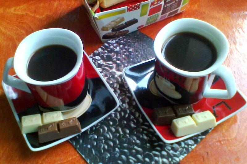 Аллочкин кофе и шоколад