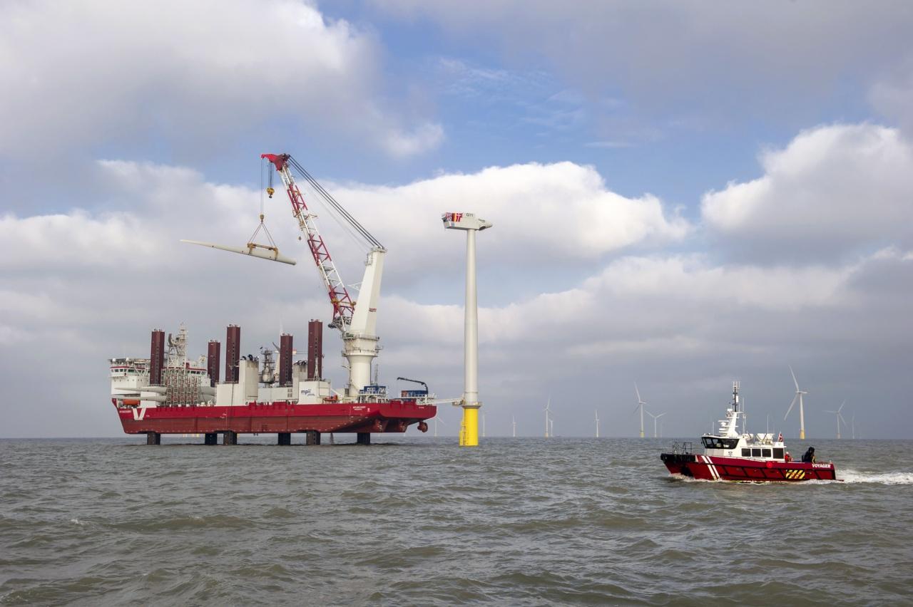 Как устроена крупнейшая ветряная электростанция в мире