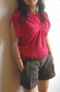 Звездa спицами - свитер или платье Наши воплощения