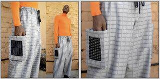 Солнечные панели на одежде