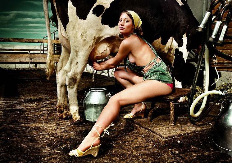 девушки на ферме порно фото