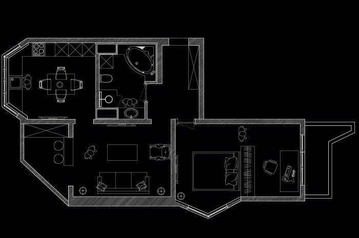 3-х комнатной квартиры