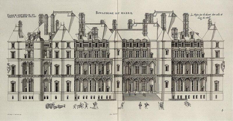 Булонский замок, фасад