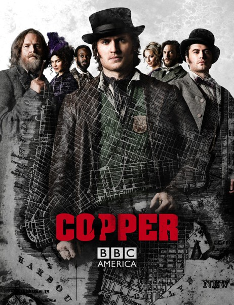 Легавый / Коп / Copper (2 сезон/2013/HDTVRip)