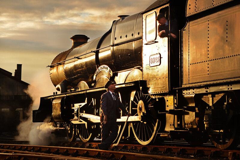 Удивительные фотографии поездов