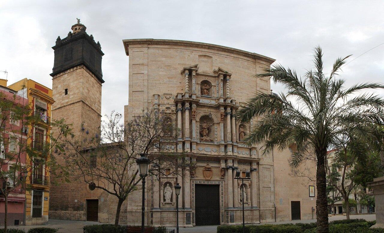 Валенсия. Церковь Святого креста (Parroquia de la Santísima Cruz)