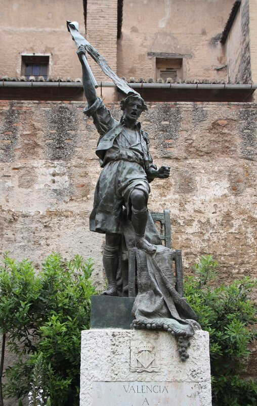 Валенсия. Ворота Торрес-де-Кварт (Torres de Quart)