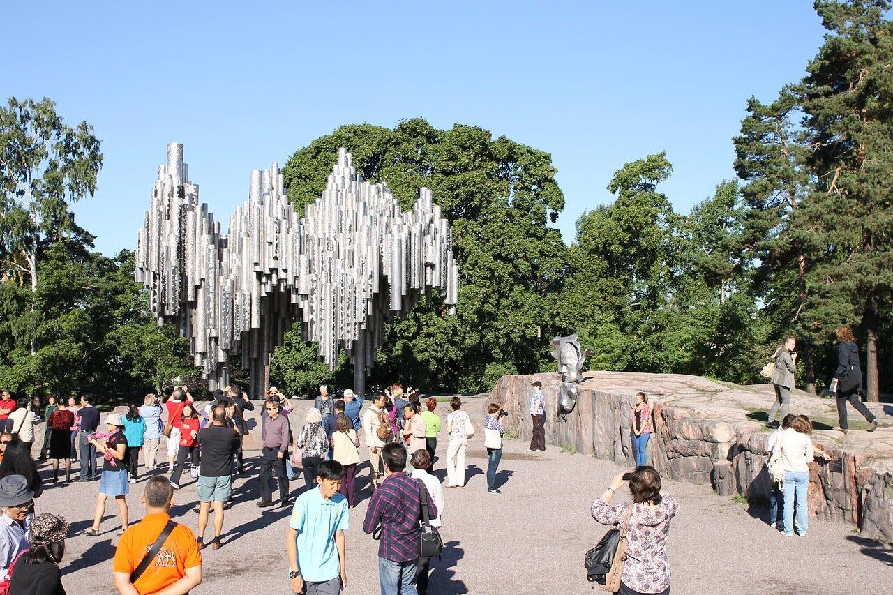 Sibelius-monumentti, Helsinki