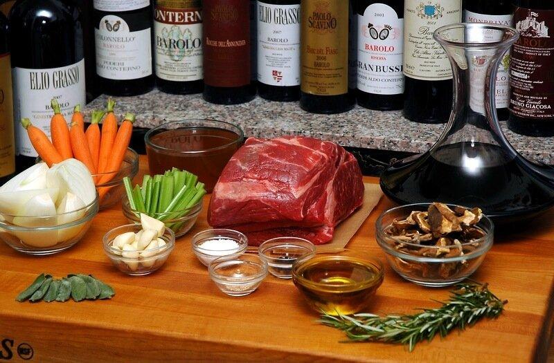 Мясо по итальянски   Брасато ди Манзо