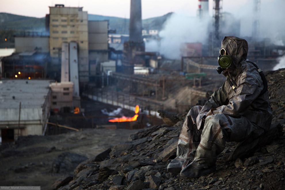 Это был Карабаш — самый грязный город в мире.