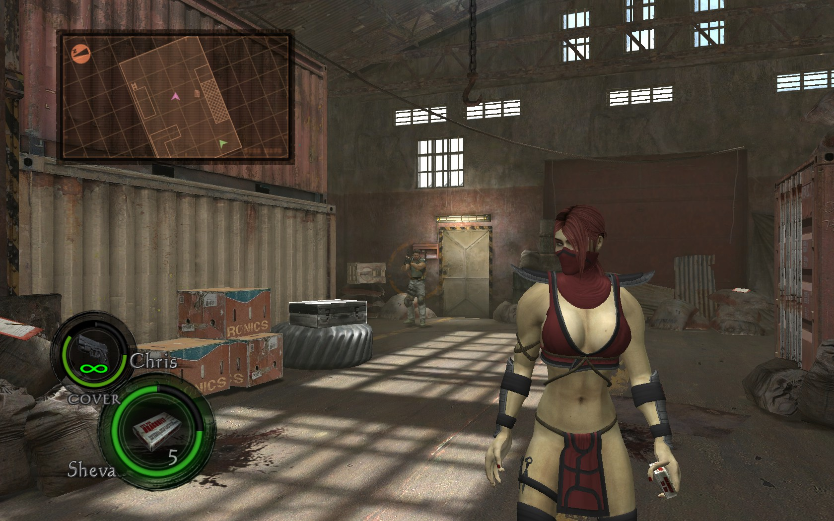 Resident evil 5 sheva cloning mods smut clip
