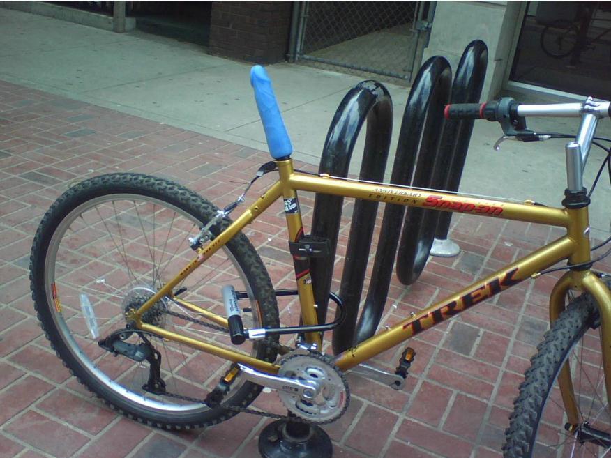 велосипед с дилдо в сиденье фото