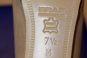 Профессиональные фигурные ботинки Graf Edmonton Special (Швейцария) в полноте M