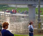 20130715 Потоп в Солнцево под мостом