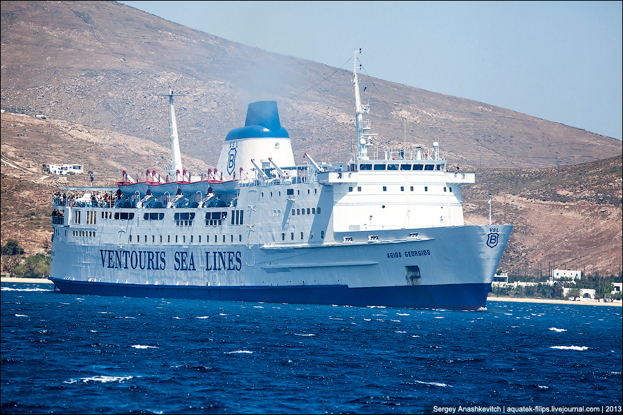 Паромы в Греции
