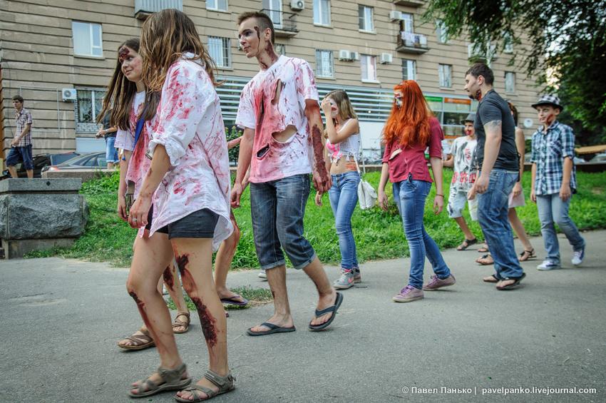 парад зомби панько pavelpanko.livejournal.com