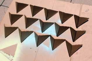 Полигональная полка для мелочей своими руками