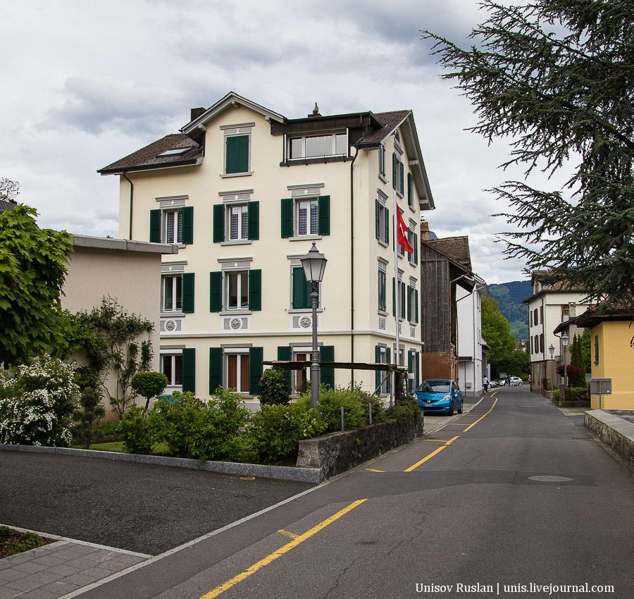 Автомобильное путешествие по Швейцарии