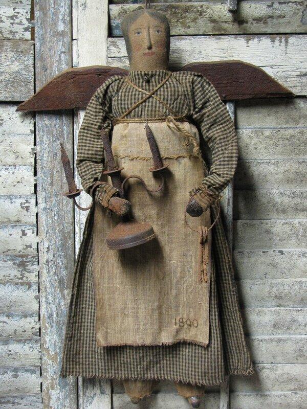 кукла чердачная