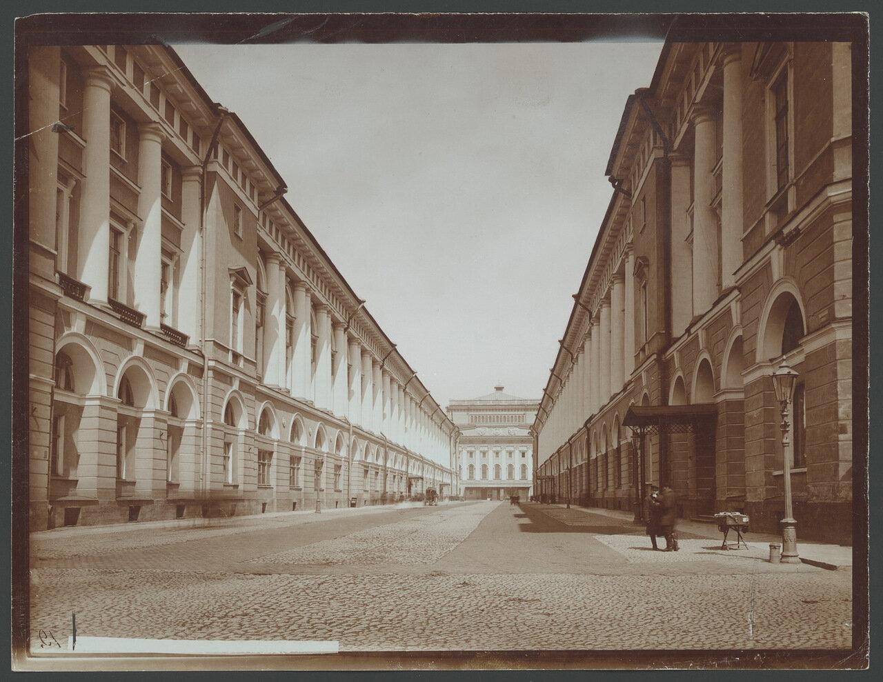 Улица Зодчего Росси.