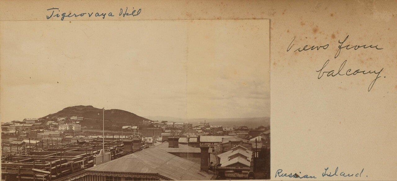 Вид на Владивосток с веранды дома Смита. 1899