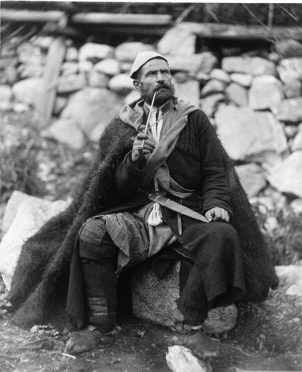 Портрет грузинского мужчины