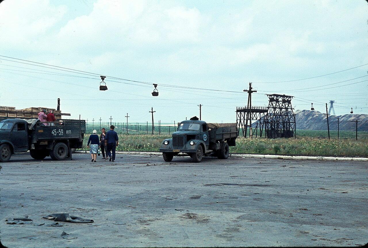 По дороге в Киев. Около Боково-Платово
