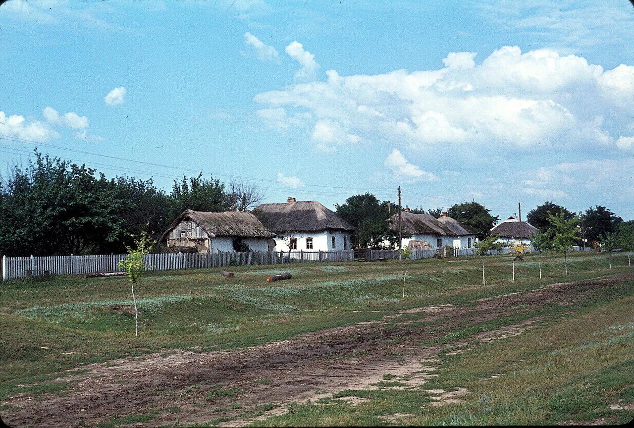 По дороге в Киев. Деревня Круча (160 км к востоку от г. Киев)