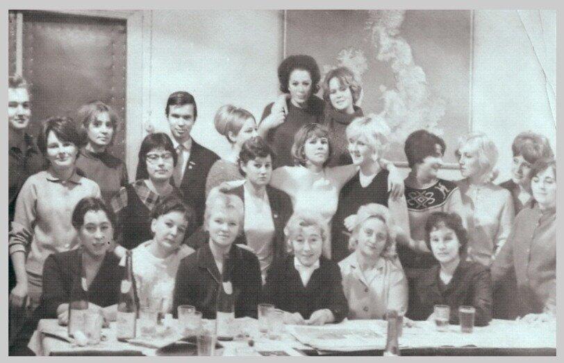 1968.6 января. Встреча с выпускниками инфака