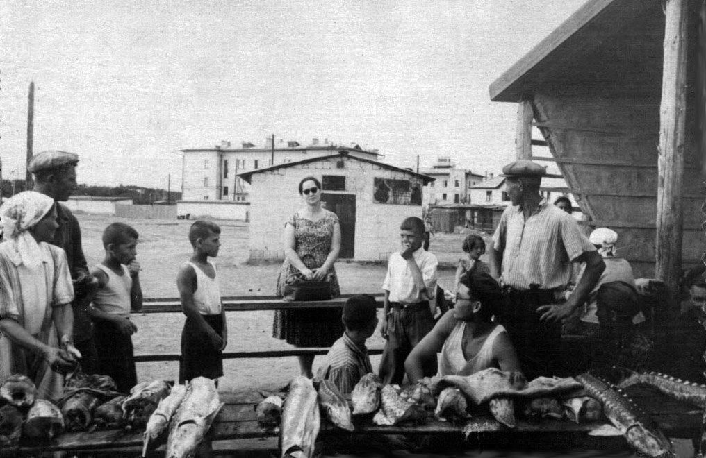 1956. Рынок Жилгородка