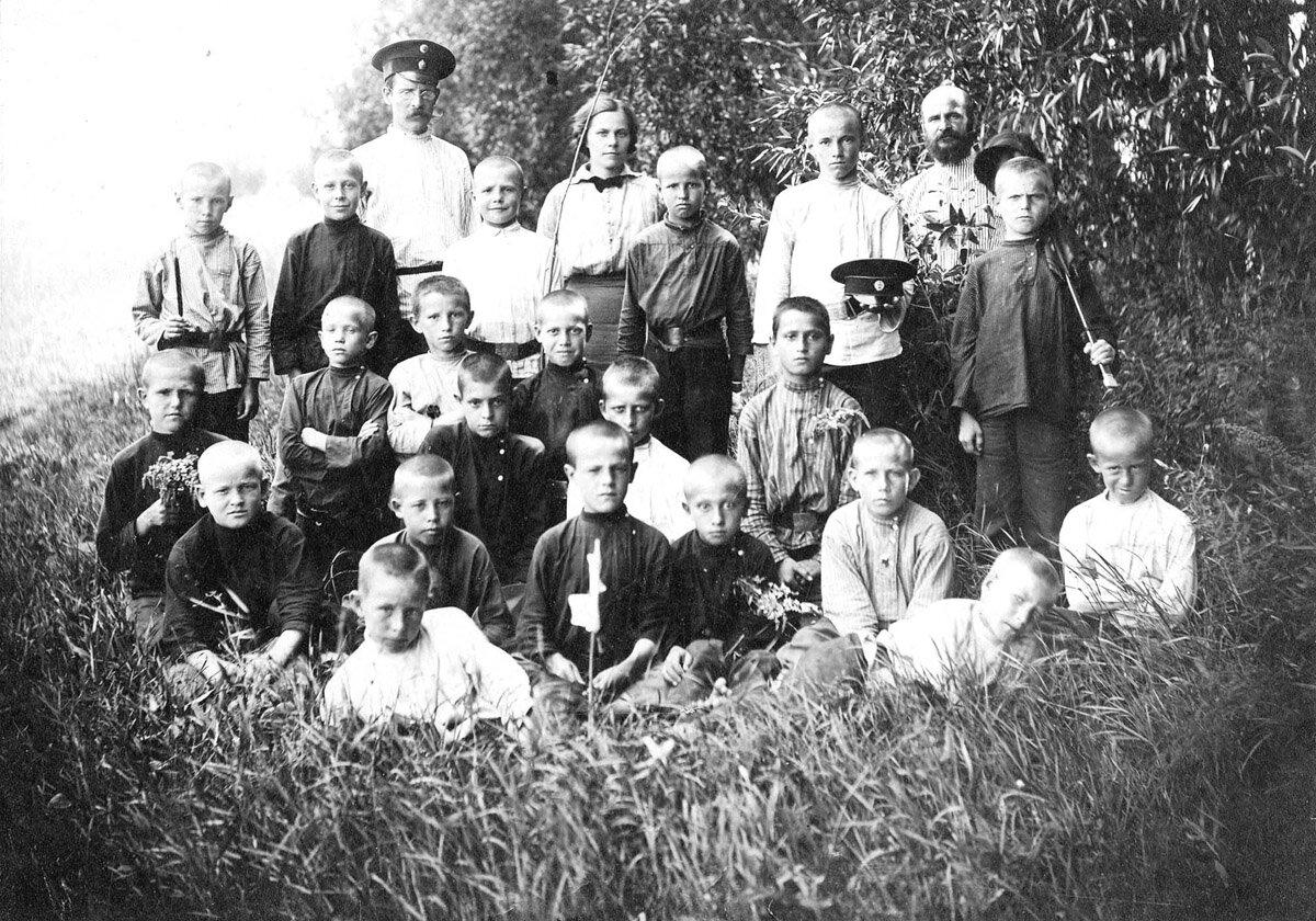 1915. Детская летняя оздоровительная колония при Ершовском училище