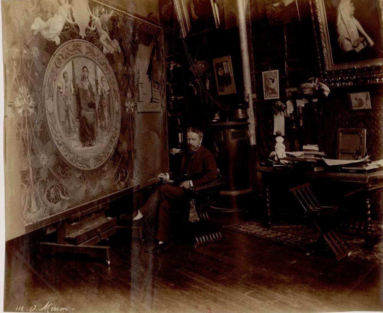 Люк Оливье Мерсон (1846-1920) художник