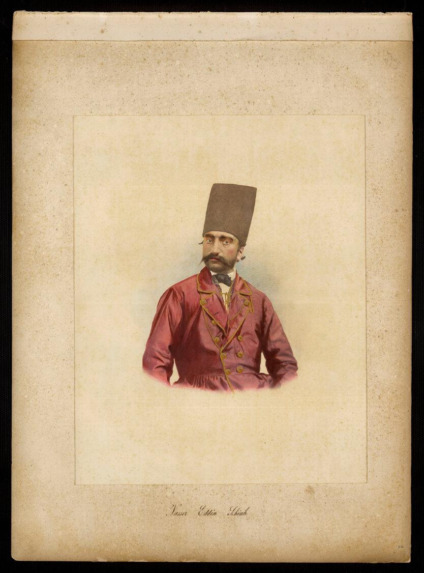 Персия. Насреддин-шах, персидский шах